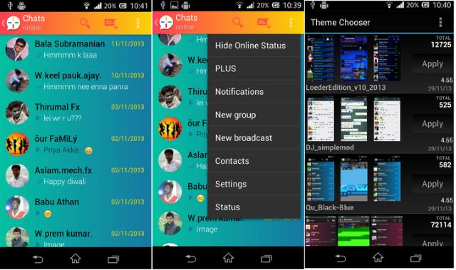 WhatsApp Plus, l'applicazione più scaricata del 2017 3