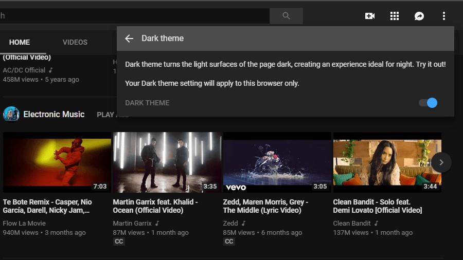 Come attivare la modalità Dark di YouTube sul tuo cellulare e PC 3